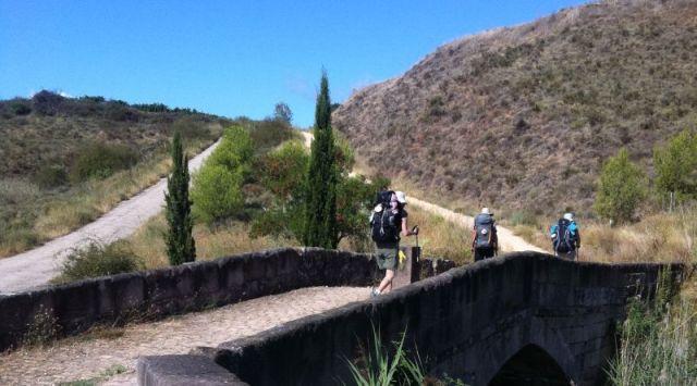 A bridge on the Camino de Santiago