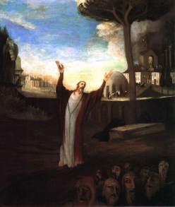 CSONTVÁRY KOSZTKA Tivadar Praying Saviour