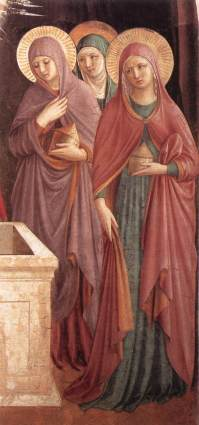 gozzoli women at the tomb